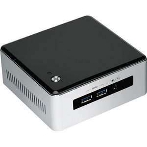 Intel BLKNUC5I3MYHE Desktop Computer - Core i3 i3-5010U 2.10 GHz DDR3L SDRAM - Silver, Black