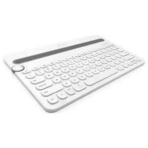 Logitech 920-006343 K480 Bluetooth Multi-Device White Keyboard