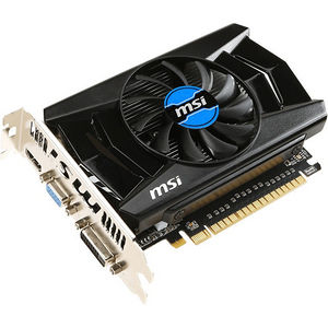 MSI N740-4GD3 GeForce GT 740 Graphic Card - 1.01 GHz Core - 4 GB DDR3 SDRAM - PCI-E 3.0 x16
