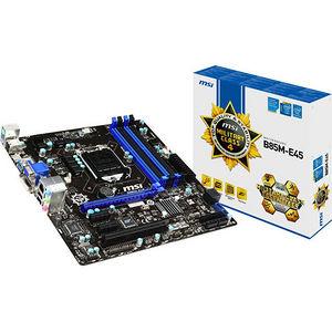 MSI B85M-E45 Desktop Motherboard - Intel Chipset - Socket H3 LGA-1150