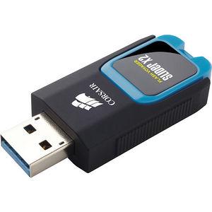 Corsair CMFSL3X2-64GB Flash Voyager Slider X2 USB 3.0 64GB USB Drive