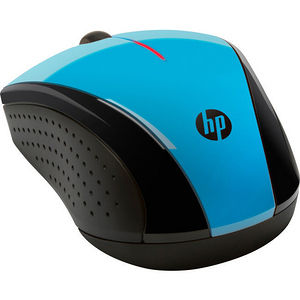 HP K5D27AA#ABL X3000 Blue Wireless Mouse