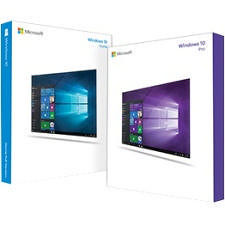 Microsoft KW9-00016 Windows 10 Home 32/64-bit - License and Media - 1 License