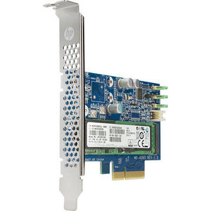 HP M1F73AT Z Turbo 256 GB Solid State Drive - PCI Express - Internal - Plug-in Card