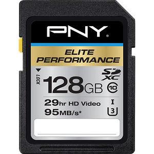 PNY P-SDX128U395-GE Elite Performance 128 GB SDXC