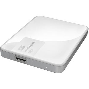 WD WDBBKD0030BWT-NESN My Passport Ultra 3TB USB 3.0 Secure portable drive - Brilliant White