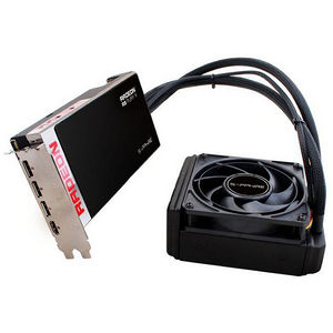 Sapphire 21246-00-40G Radeon R9 Fury X Graphic Card - 1.05 GHz Core - 4 GB HBM - PCI Express 3.0