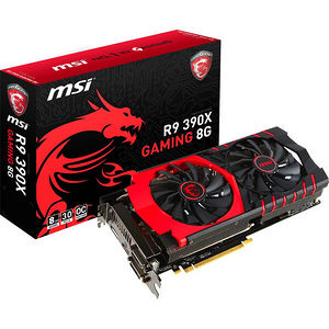 MSI R9 390X GAMING 8G Radeon R9 390X Graphic Card - 1.10 GHz Core - 8 GB GDDR5 - PCI-E 3.0 x16