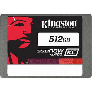 "Kingston SKC400S37/512G SSDNow KC400 512 GB Solid State Drive - SATA/600 - 2.5"" Drive - Internal"