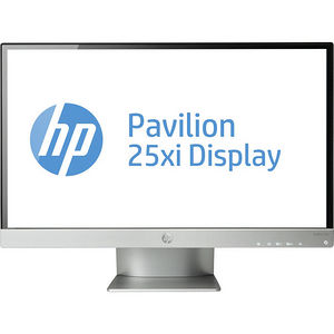 "HP C3Z97AA#ABA Pavilion 25xi 25"" Full HD LED LCD Monitor - 16:9 - Iridium Silver, Jack Black"