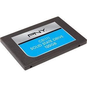 """PNY SSD7CS1111-120-RB CS1111 120 GB Solid State Drive - SATA/600 - 2.5"""" Drive - Internal"""