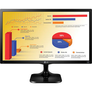 "LG 24MC37D-B 24"" Full HD LED LCD Monitor - 16:9 - Black Hairline"