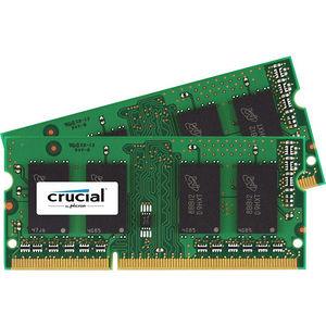 Crucial CT2KIT51264BF186DJ 8GB (2 x 4 GB) DDR3 SDRAM Memory Module - Non-ECC - Unbuffered