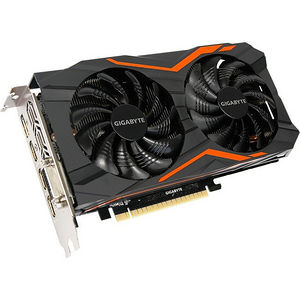 GIGABYTE GV-N1050G1 GAMING2GD GeForce GTX 1050 Graphic Card - 1.44 GHz Core - 2 GB GDDR5