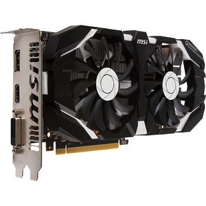MSI GTX 1060 6GT OCV1 GeForce GTX 1060 Graphic Card - 1.54 GHz Core - 6 GB GDDR5 - PCI-E 3.0 x16