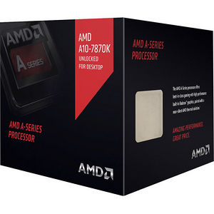AMD AD787KXDJCSBX A10-7870K Quad-core (4 Core) 3.90 GHz Processor - Socket FM2+ Retail Pack