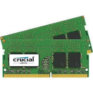 Crucial CT2K8G4SFS824A 16GB (2 x 8 GB) DDR4 SDRAM Memory Module - Non-ECC - Unbuffered