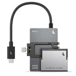 Angelbird MP-PCC6K-1TBPK512C Match Pack - Blackmagic Cinema Camera 6K (1TB SSD2go PKT (Grey) | 512 GB CFast)