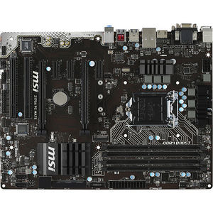 MSI Z170A PC MATE Desktop Motherboard - Intel Chipset - Socket H4 LGA-1151