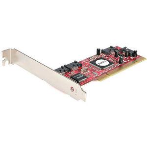 StarTech PCISATA4R1 4 Port PCI SATA RAID Controller Adapter Card