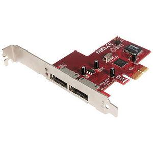 StarTech PEXESATA2 2 Port PCI Express eSATA Controller Adapter Card