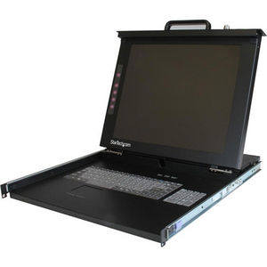 "StarTech RACKCONS1701 1U 17"" Rackmount LCD Console - USB + PS/2"