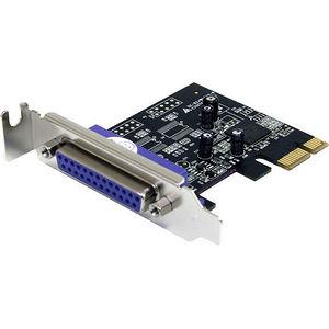 StarTech PEX1PLP 1 Port PCI Express Low Profile Parallel Adapter Card - SPP/EPP/ECP