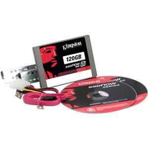 "Kingston SV300S3D7/120G SSDNow V300 120 GB Solid State Drive - SATA/600 - 2.5"" Drive - Internal"