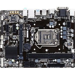 Gigabyte Ultra Durable Ga-h110m-s2h Gsm Desktop Motherboard Intel H110 Chipset