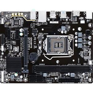GIGABYTE GA-H110M-A Ultra Durable Desktop Motherboard - Intel H110 Chipset - Socket H4 LGA-1151