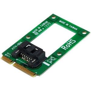 StarTech MSAT2SAT3 mSATA to SATA HDD / SSD Adapter - Mini SATA to SATA Converter Card