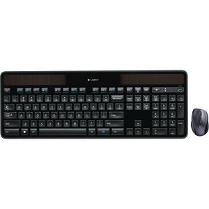 Logitech 920-005002 MK750 Wireless Solar Keyboard & Marathon Mouse Combo
