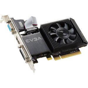 EVGA 01G-P3-2711-KR GeForce GT 710 Graphic Card - 954 MHz Core - 1GB DDR3 SDRAM - PCIE 2.0 x16 - LP