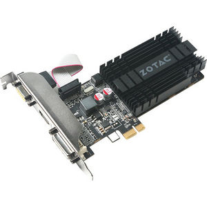 ZOTAC ZT-71304-20L GeForce GT 710 Graphic Card -1 GB DDR3 SDRAM - PCIe x1