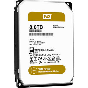 WD WD8002FRYZ Gold 8TB high-capacity datacenter hard drive