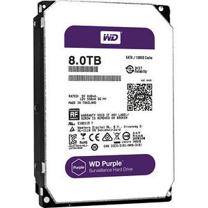 "WD WD80PUZX Purple 8 TB 3.5"" Internal Hard Drive"