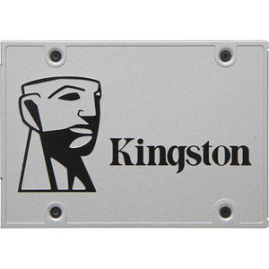 "Kingston SUV400S3B7A/120G SSDNow UV400 120 GB Solid State Drive - SATA/600 - 2.5"" Drive - Internal"