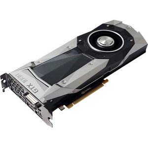 ZOTAC ZT-P10800A-10P GeForce GTX 1080 Graphic Card - 1.61 GHz Core - 8 GB GDDR5X - PCI-E 3.0