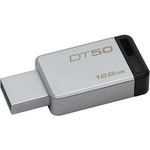 Kingston DT50/128GB 128GB USB 3.0 DataTraveler 50 (Metal/Blue)