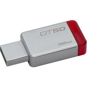 Kingston DT50/32GB 32GB USB 3.0 DataTraveler 50 (Metal/Blue)
