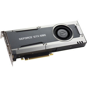 EVGA 08G-P4-5180-KR GeForce GTX 1080 Graphic Card - 1.61 GHz Core - 8 GB GDDR5X - PCIE 3.0 x16