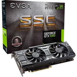 EVGA 03G-P4-6167-KR GeForce GTX 1060 Graphic Card - 1.61 GHz Core - 3 GB GDDR5 - PCIE 3.0