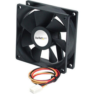 StarTech FAN9X25TX3H 90x25mm High Air Flow Dual Ball Bearing PC Case Fan