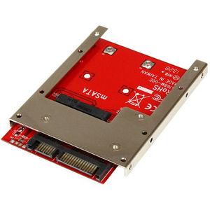 StarTech SAT32MSAT257 mSATA SSD to 2.5in SATA Adapter Converter