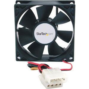 StarTech FANBOX 80x25mm Dual Ball Bearing Computer Case Fan w/ LP4 Connector - System fan kit
