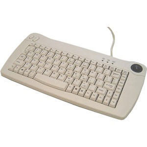 Adesso ACK-5010UW ACK-5010 Mini-Trackball White Keyboard (USB)