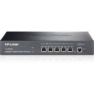 TP-LINK TL-ER6020 Gigabit Dual-WAN VPN Router, 2 WAN ports, 2 LAN ports, 1 DMZ port