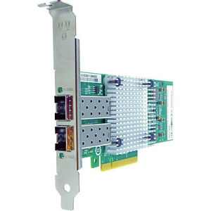 Axiom 430-4435-AX Dual Port Fiber PCIe x8 10Gbs Network Adapter for Dell
