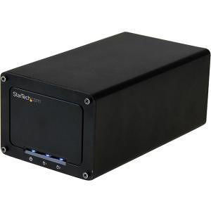 "StarTech S252BU313R USB 3.1 (10Gbps) External Enclosure for Dual 2.5"" SATA Drives - RAID - UASP"