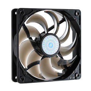 Cooler Master R4-C2R-20AC-GP SickleFlow 120 - Sleeve Bearing 120mm Silent Fan (Smoke Color)